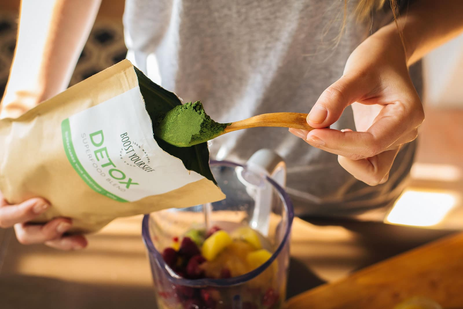 Boost Yourself Detox superfood blend for green smoothies