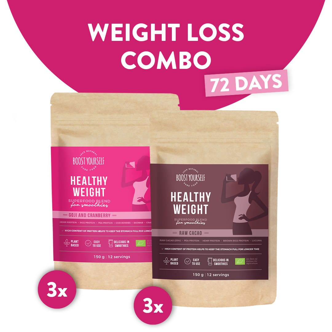 Weight Loss with Superfoods Combo for 72 days