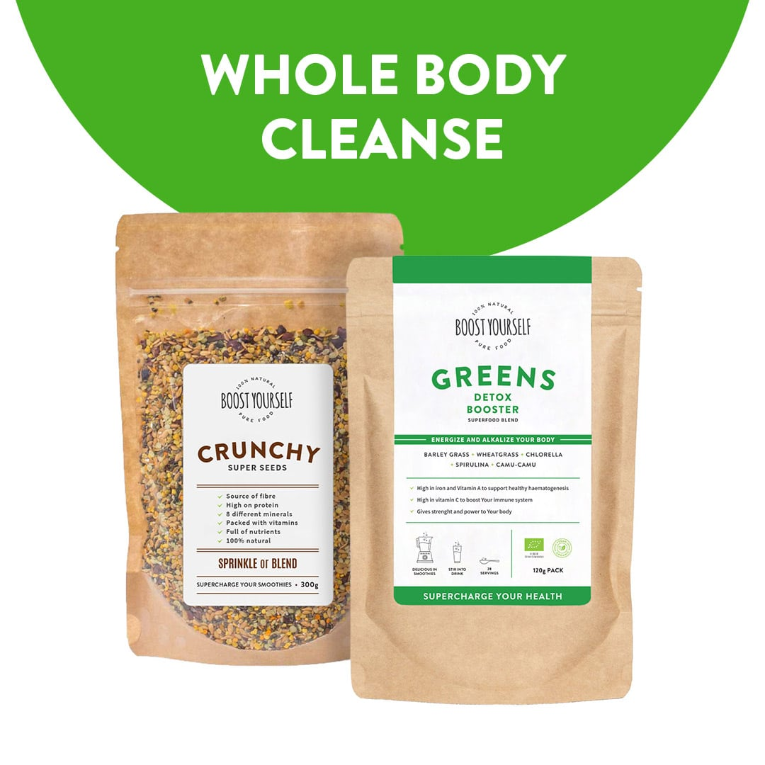 Whole Body Cleanse with Superfoods Combo