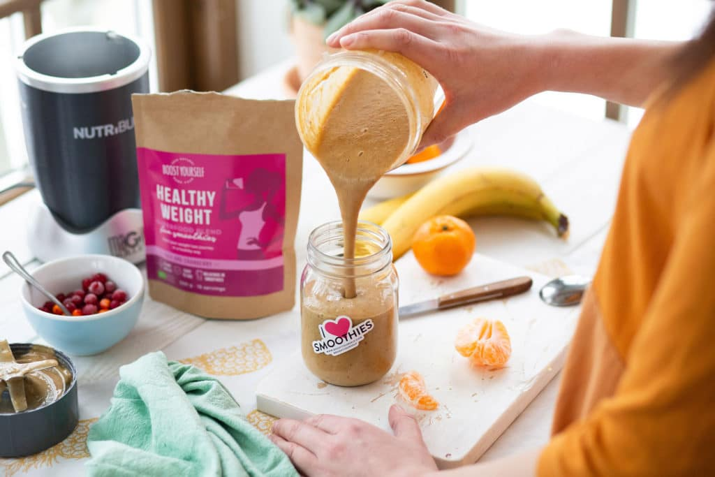 Boost Yourself Healthy Weight superfood blend