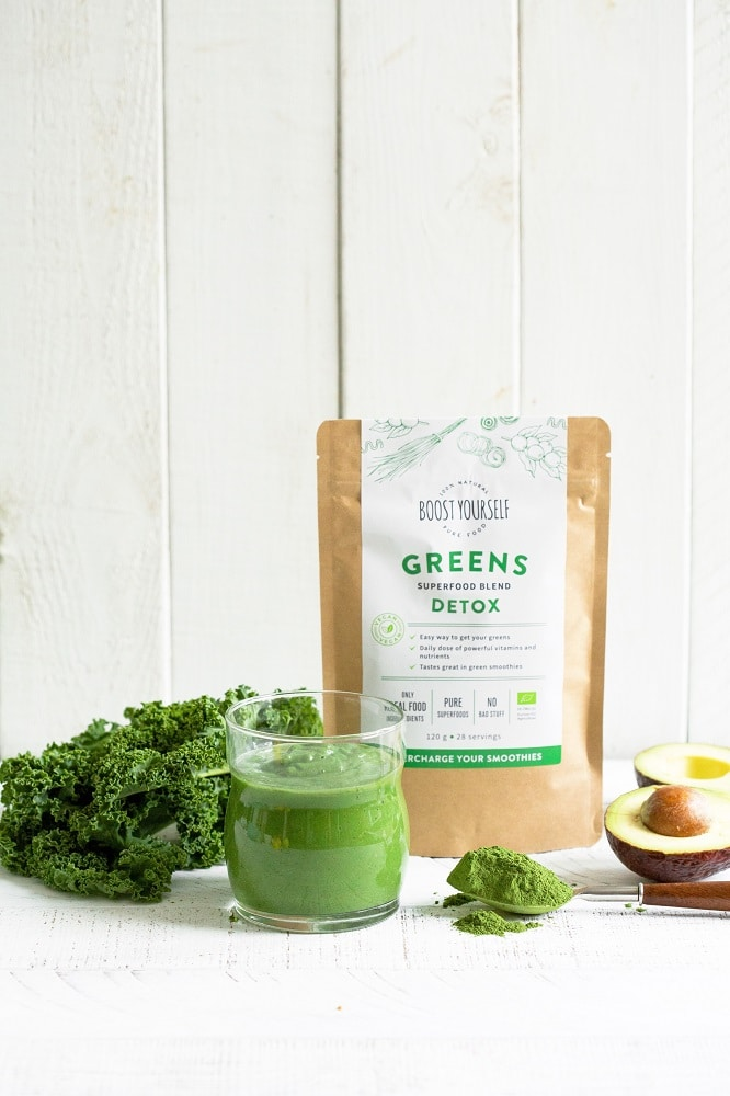 Green detox smoothie recipe